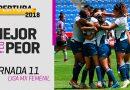 La Franja se apoderó de Lo Mejor y Lo Peor de la Liga MX Femenil