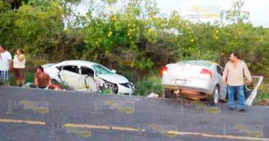 Tres muertos en trágico accidente; eran de Martínez de la Torre
