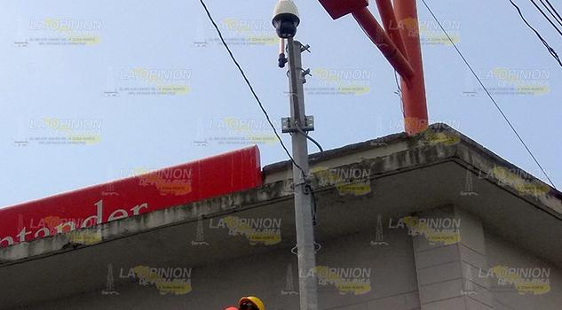 270 videocámaras entrarán en servicio en Tuxpan