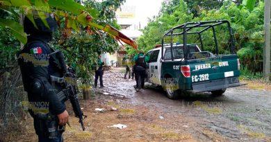 ENFRENTAMIENTO entre jornaleros y policías