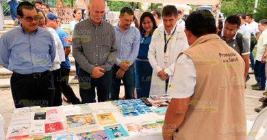 Anuncian la Feria de la Salud en Álamo