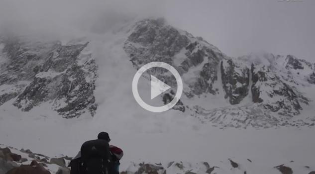 Avalancha repentina casi sepulta a cineastas