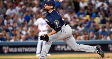 Brewers de Milwaukee blanquean a Dodgers de Los Ángeles