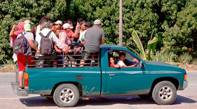 Busca Caravana Migrante reunión con senadores en la CDMX