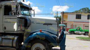 Camión Carguero Arrolla Ama Casa Estero Ídolo