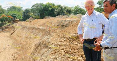 Canal Oro Verde almacenará solo agua lluvia alcalde Álamo