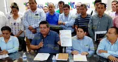 Chanaje político en Tuxpan