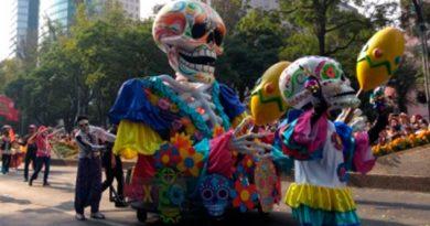 Desfile de Día de Muertos dónde cuándo y a qué hora