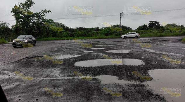 Destrozada la red carretera en la Zona Norte