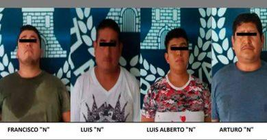 Detienen probables narcomenudistas Tlapacoyan