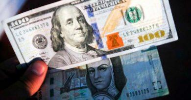 El dólar se vende hasta en $19.40 en el AICM