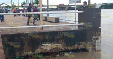 El río Tuxpan mantiene nivel