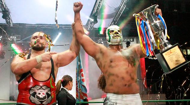 Este Año Espero Llevarme Grand Prix CMLL Michael Elgin