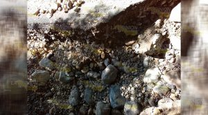 Falta cunetas riesgo pavimentación realizada PEMEX