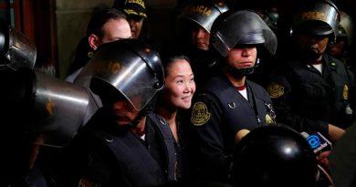 Fiscal peruano pide prisión preventiva contra Keiko Fujimori