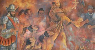 Fray Diego de Landa el destructor de los Mayas