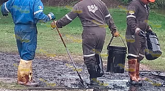Fuga de hidrocarburo se debió a actos vandálicos Pemex