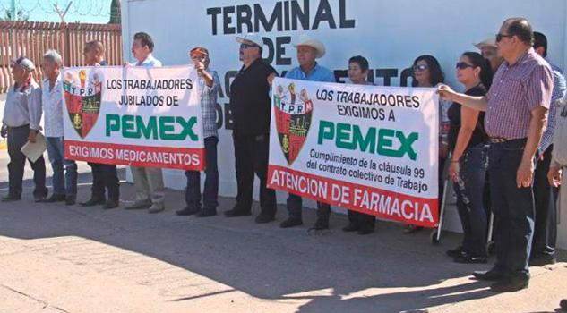 Gran nómina de jubilados, regalo de Pemex a AMLO