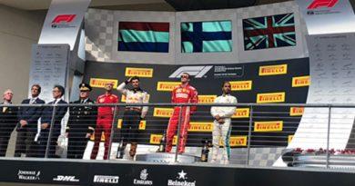 Hamilton llegó tercero en EU, puede coronarse en GP México