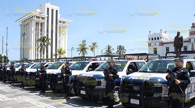 Hay 350 nuevas patrullas para mejorar seguridad