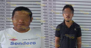 Detienen a policías ladrones en Tuxpan