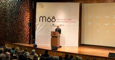 Inauguran el museo memorial al 68