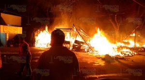 Incendio Mercado Tantoyuca