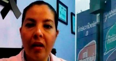 La Doctora Olga Verdejo Báez es quien se aventó de la Torre Animas