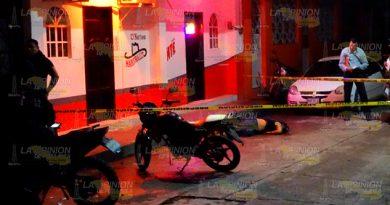 Lo asesinan en pleno centro de Álamo