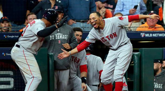 Los Red Sox de Boston avanzan a la Serie Mundial