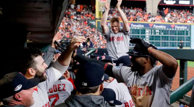 Los Red Sox se ponen a un juego del campeonato de la Liga Americana