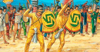 Los temibles guerreros Cuachicqueh
