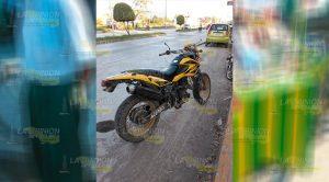 Motociclista Ebrio, Impacta Contra Puesto Trolelotes