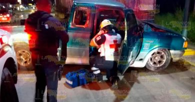 Muere conductor en terrible accidente en Tampico