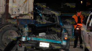 Muere conductor en terrible accidente en Tampico