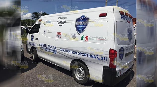Poza Rica recibe una ambulancia