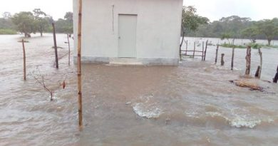 Río Coatzacoalcos en aumento; podría desbordarse
