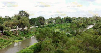 Río Tancochín, amenaza latente en Naranjos