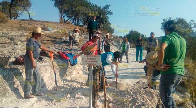 Rechazan mina por daño ambiental en Sierra norte de Puebla