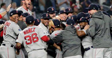 Red Sox liquidan Yankees cuatro juegos medirán Astros