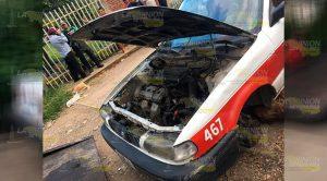 Roban y desvalijan taxi en Poza Rica
