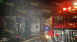 Se incendió vivienda en Tuxpan