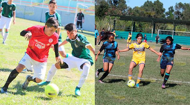 Sub-17 y femenil de Barrios serán los domingos