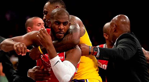 Suspende cuatro juegos a Ingram y dos a Chris Paul por trifulca en la NBA