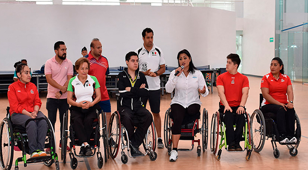 Veracruz avanza en materia de Para-Tenis de Mesa