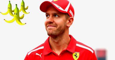 Vettel preferiría usar los plátanos de Mario Kart que el DRS