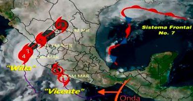 Huracán Willa el mayor peligro para México ¿Dónde se encuentra?