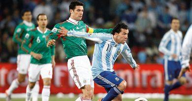 selección mexicana tendrá dos pruebas ante Argentina