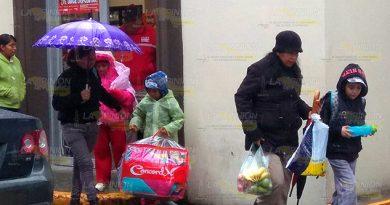 ¡Estragos por el frío en Tuxpan!