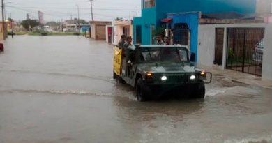 Aplican plan DN-III-E en Tabasco en ayuda a la población ante lluvias